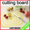 FREE SHIPPING Cutting Kitchen Board Pvc Fashion Simple Convenience Slim Health Fruit Vegetable Use 12Pcs/Lot Say Hi LXXY 20423