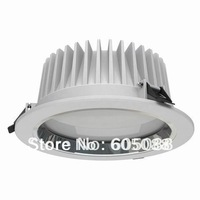 """7"""" aluminum alloy housing 30w led downlight lamp,with external driver AC100-240v/50-60Hz,10pcs/lot promotion,DHL free shipping!"""