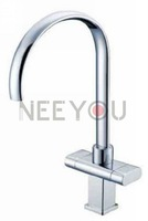 Brass Chrome plating Kitchen Faucet  Sink Faucet Mixer Tap 02482 Free shipping