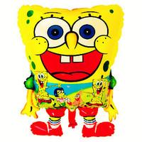New! Spongebob Helium Balloon 100pieces/lot Free Shipping Mylar Balloon 100% Good Quality