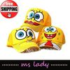 new hats for child hats and caps baseball hat kid's hat spongebob hat 10pcs/lot free shipping HK airmail