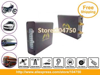 DHL Free Shipping! 4pcs/lot GPS Car Vehicle tracker supporting Camera, fuel senor & remote, data logger GPS-VT106B