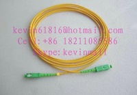 3 meters optical fiber jumper SC/APC-SC/APC Connector single mode good quality