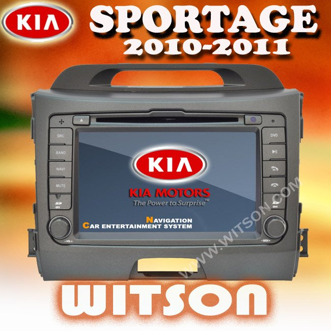 WITSON HOT!!! Car DVD player for Kia Sportage (2010-2012) with GPS 3G, bluetooth ,TV Free shipping +4GB Gift Map(China (Mainland))