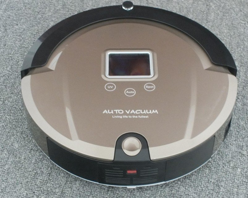 Only for Russian Lowest Noise Working 2 Hours Robot Rommba Vacuum cleaner