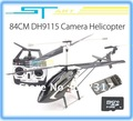 4PCS Biggest Camera rc helicopter Double Horse 9115 3ch 2.4G RTF Helicopter dh9115 w/ Built-in Gyro + do dropshipping
