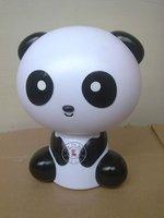 Free shipping Wholesale retail good quality New arrival novelty panda LED lovely night lamp cartoon night lighting 1pcs
