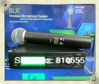 Free shipping SLX24 UHF professional handheld    Wireless Vocal Mic System SLX24 / Beta58 stage microphone