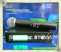 Free shipping SLX24 UHF professional handheld    Wireless Vocal Mic System SLX24 / Beta58 stage microphone