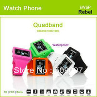 "Original sWaP Rebel EC108 Mini Watch Mobile Phone 1.35"" Touch Screen With FM,MP3,Bluetooth,Video Player,Camera,Voice Dial"