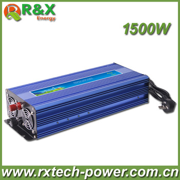 1500W  Pure Sine Wave Power Inverter,DC/AC Inverter For Wind/ Solar PV System,DC12/24/48V to AC110-120V, AC220- 240V,CE Approval