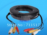 - BNC/RCA Power Video Extension Cable for CCTV Camera 30M