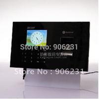 "Free shipping!!TCPIP+RFID Card Read +USB 2.8"" Fingerprint Reader Time Attendance Time recorder"
