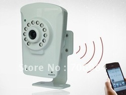 Free shipping Cloud Surveillance Net work camera(China (Mainland))