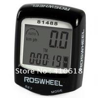 Free shipping 5colors Bicycle Computer /Speedometer /LCD Bike Odometer/14 Function Waterproof speedometer