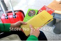 Free shipping! 20pcs/lot New Multi-function passport holder/ passport case +wallet / traval passport holder