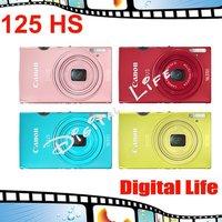 "Canon IXUS 125 HS Digital Camera 5x Optical Zoom, 4x Digital Zoom,16.1 MP Sensor Resolution,3""Display Size"