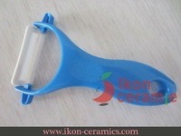 Free shipping! High Quality New 100% Zirconia Ikon Ceramic Peeler (Blue)