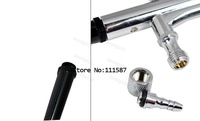 New 0.3mm Spray DUAL ACTION Nail Airbrush Kit Gun Paint Free Shipping 2086