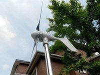 500W wind turbine generator sets, wind turbine+MPPT charge controller+500W UPS inverter