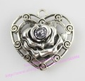 New Alloy flower heart style Fashion Jewelry Scarf pendant Jewelry Accessories (ZZ-13)