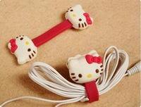 Retail Cute Hello Kitty Cartoon Cable Winder (SI-29)