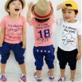 2012 New! Toddler Boys&#39; Spring Elephant 2PCS Clothing, Tee+ Shorts, 5 sets/lot, 2 Colors Available