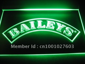 w4101 Baileys Beer bar display Neon Light Sign