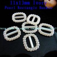 2000pcs 11 x13mm ivory  imitation rounded rectangle shape flatback pearls free shipping