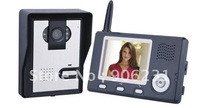 "Free shipping!!brand KONX 3.5"" 2.4G Digital wireless video door phone intercom Photo Night"