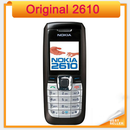 Fast Free Shipping Unlocked Nokia 2610 the Cheapest Original Mobile Phone(China (Mainland))