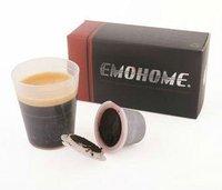 USE 300 times more | EM-03 Espresso refillable Coffee Capsule compatible nespresso 10pcs inside