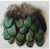New! Hot sale! 200pcs/Lot 4-7CM Loose  LADY AMHERST Pheasant Plumage Feathers Freeshipping