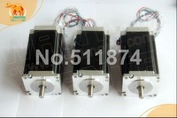 High Quality! CNC Wantai  3PCS Nema 23 Stepper Motor 57BYGH115-003 3.0A 425oz-in 115mm CE ROHS ISO Laser Plasma Mill Embroidery