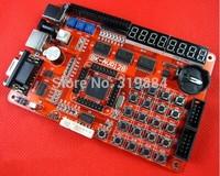 Free shipping 1x AVR development board ATMEGA128 ATMEL Microcontroller board AVR128 board