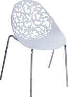 4 pieces/lot Miss Lacy Chair Spoon sharp hollow seat side dining chair