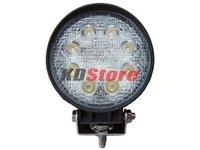 New Free Shipping 24W 10-30V DC LED Worklight Flood Beam for trucks (10062)