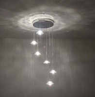 Free shipping  Modern Crystal ceiling lights for home crystal lighting