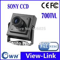 700TVLine 960H CCD 3.6mm lens Mini cctv camera . Free Shipping