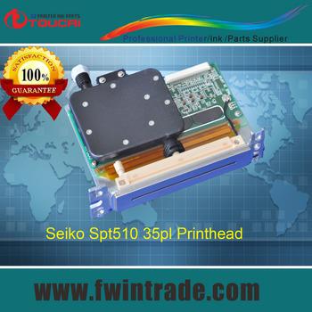 original Japanese For seiko 510 spt510 35pl print head SPT-510-RH1513D-3322 for infinity / gongzheng /sid / vutek QS3200 printer