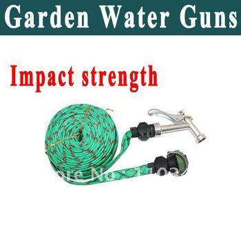 New 15 M Stainless stell Metal Nozzles Garden water guns hand shank car washing guns FREE SHIPPING