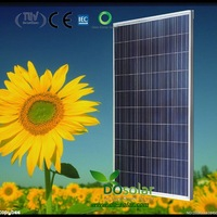 DHL Free Shiping--Best price supply POLY solar module 230 watt for solar panel system in stock