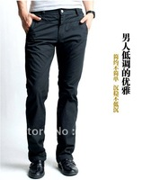 full cotton leisure pants for men, free shipping