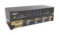 4Port USB DVI KVM Switch CKL-94D