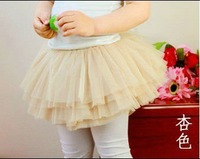5pcs/lot Multi-Layers Children Tutu Skirt 2012 New Fashion Free Shipping Qualified Princess Baby Ballet Petticoat