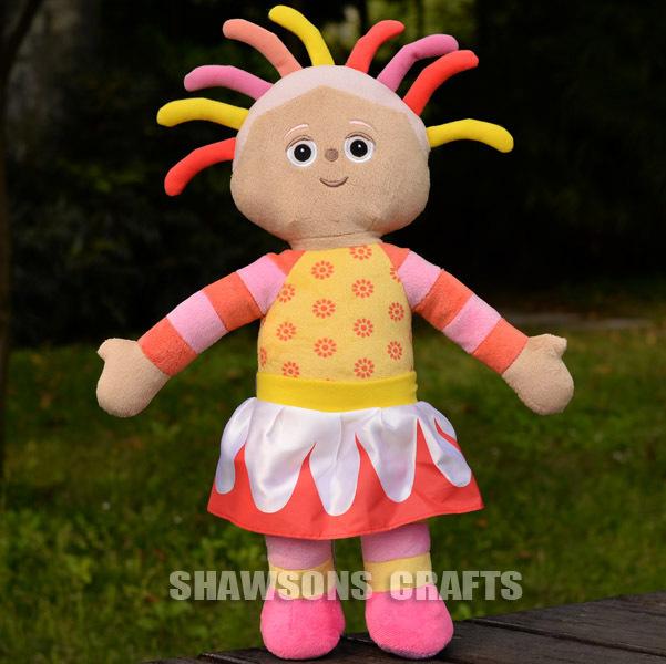 """no jardim da noite pelúcia brinquedo upsy daisy personagens 17"""" boneca macia figura(China (Mainland))"""