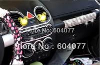 Retial 2pcs/lot  504*6MM diamond 14 colors Car diamond sticker,rhinestone sticker,Car crytal stickers car styling