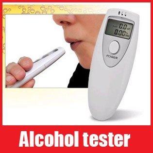 Mini Breath Alcohol Tester Breathalyzer Led Display Alcohol Tester , Free Shipping+Drop Shipping