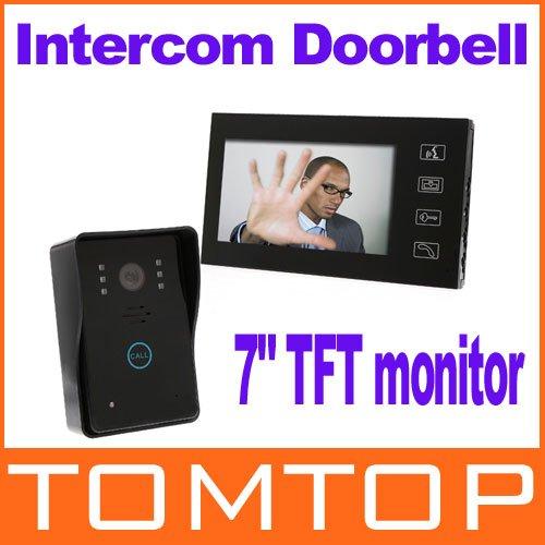 Видеодомофон TOMTOP 7 TFT DHL Dropshipping H8351