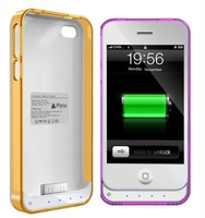 Free shipping! 2012 New arrive Case with battery for iPhone 4/4s with changeable frames
